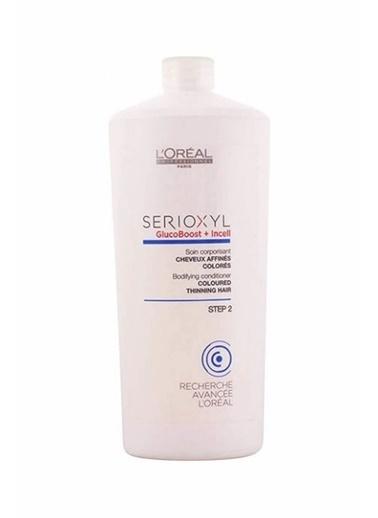 L'oreal Professionnel Loreal Professionnel Serioxyl Gluco Boost + Incell Boyalı Saçlar İçin Saç Kremi 1000 Ml Renksiz